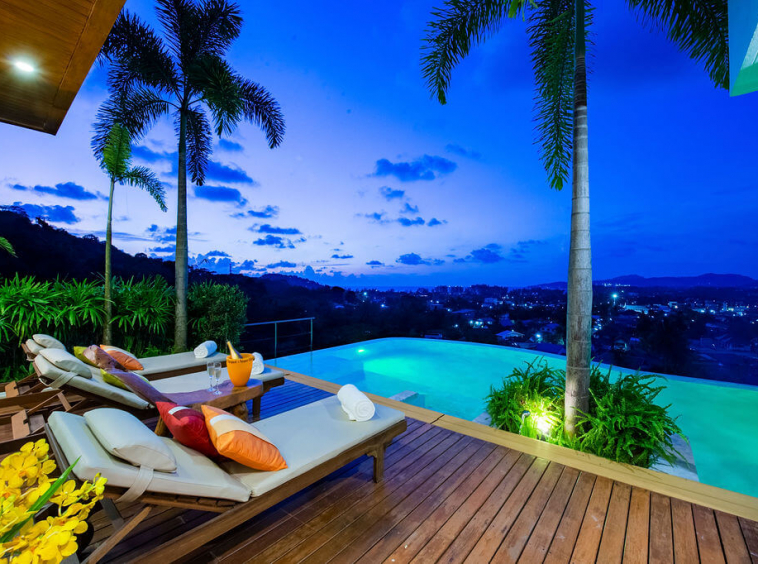 Bangtao Sea View Villa Phuket